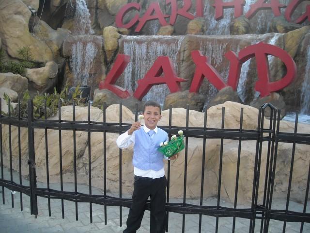 tunis jasmin hammamet zabávní park carthage land