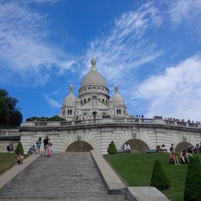 sacre coeure paříž francie