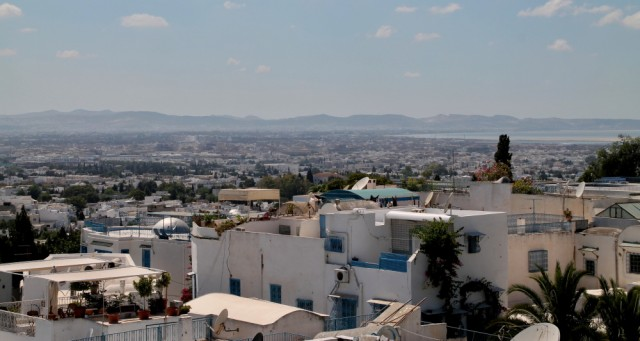 tunis dovolená mahdie město
