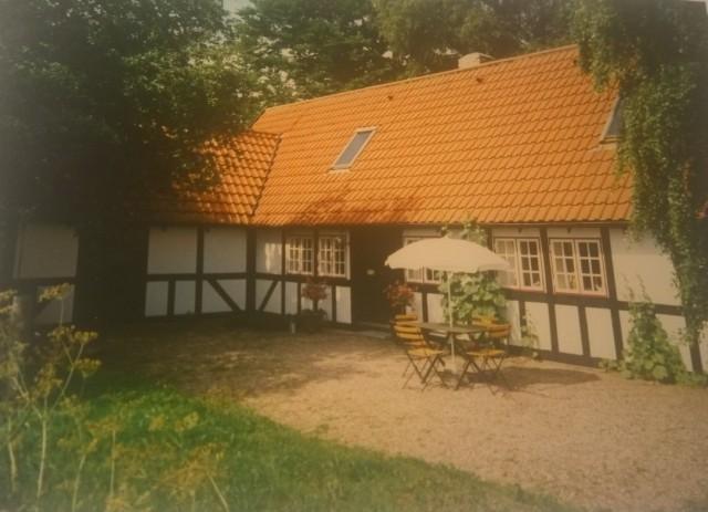 Dánsko dovolená 2 hrázděný domek příbuzných