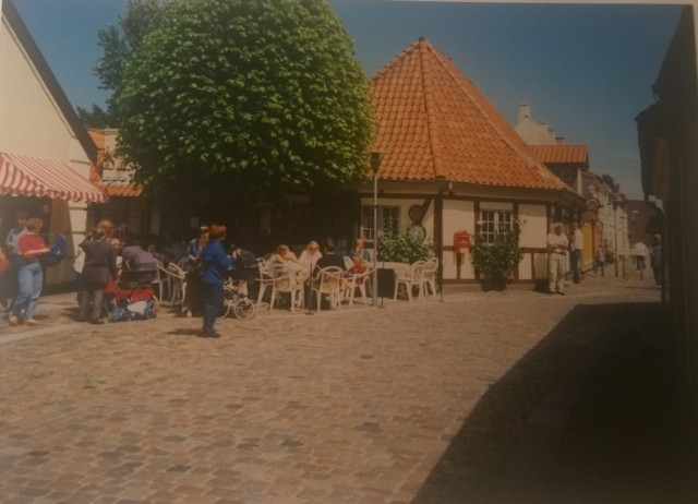 Dánsko dovolená 3 ulice v Odense