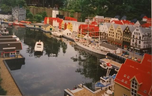 Dánsko dovolená 5 Legoland miniaturní městečko