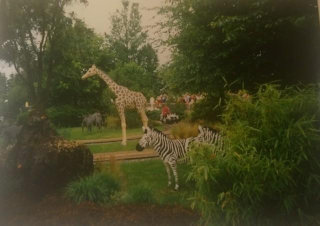 Dánsko dovolená 6 Legoland safari