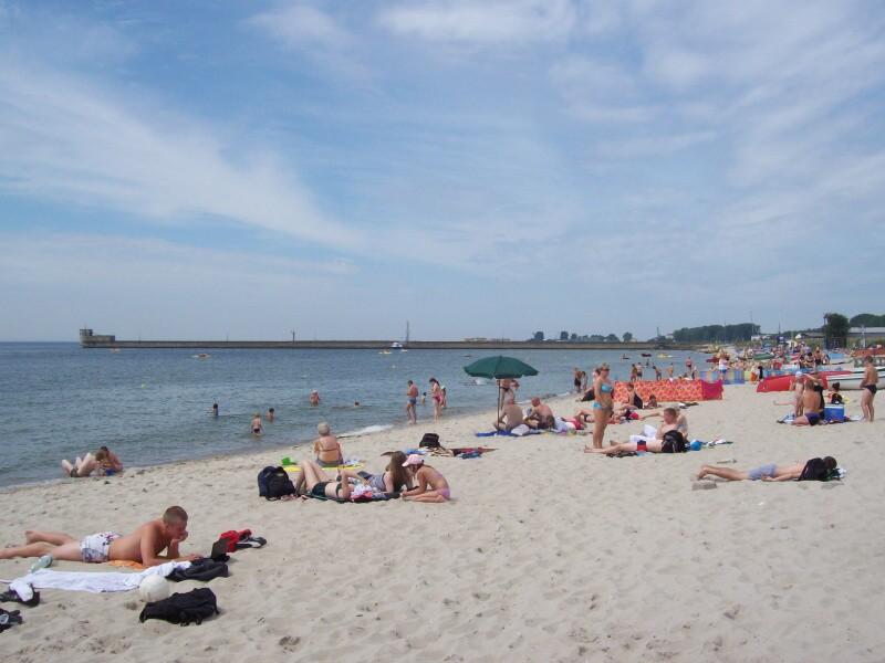 hel polsko pláž